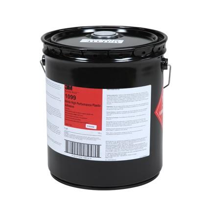 3M 1099 Nitrile High Performance Plastic Adhesive Tan 5 gal Pail