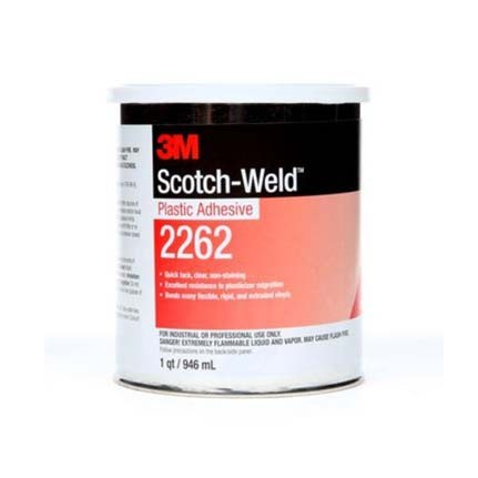 3M 2262 Plastic Adhesive Clear 1 qt Can