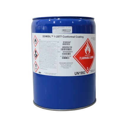 Dow DOWSIL™ 1-2577 RTV Silicone Conformal Coating Clear 18.1 kg Pail