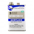 IPS Corp. SCIGRIP 3 Acrylic Plastic Cement, Solvent Based Adhesive Clear 1 gal Pail